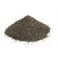 Black powdered pepper